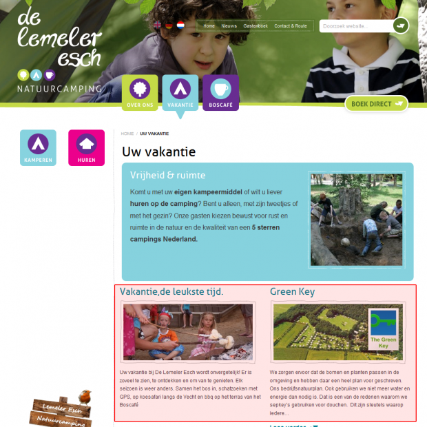 Screenshot website Lemeleresch.nl