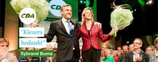 Campagne website voor het CDA