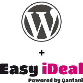 Koppel WordPress met Easy iDEAL