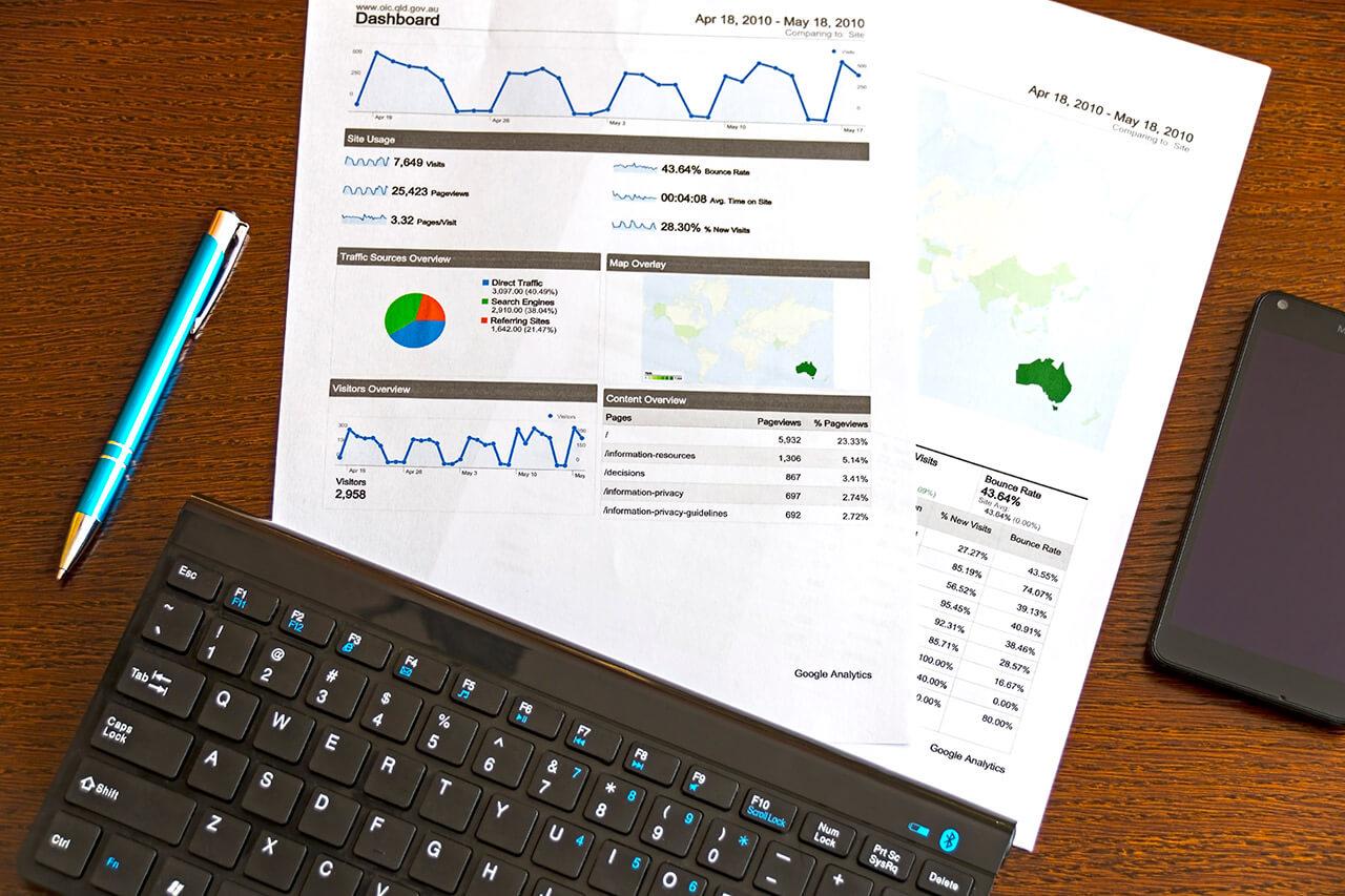 Snelle WordPress website Google Analytics