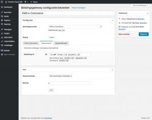 Pronamic Pay EMS e-commerce configuratie